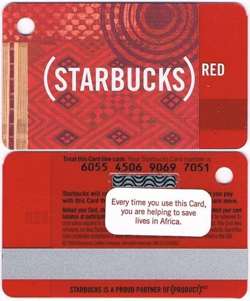 6055 USA - RED MINI KEY TAG