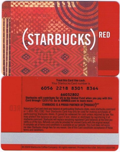 6056 USA - RED CARD
