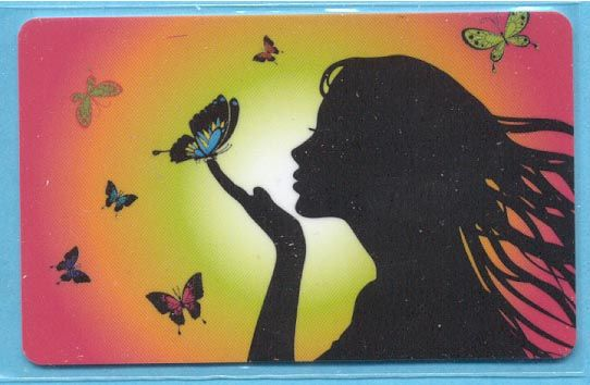 DM (23) - Girl & Butterflies - 2012