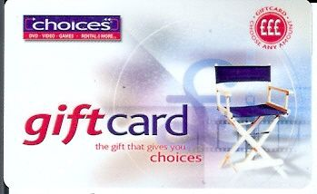 Choices - Director Chair