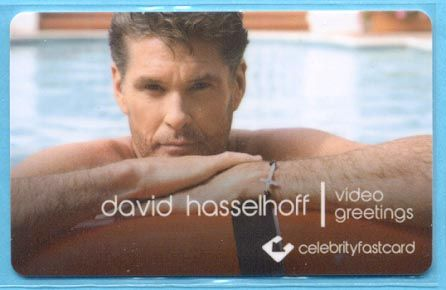 Clinton Cards David Hasselhoff 2011