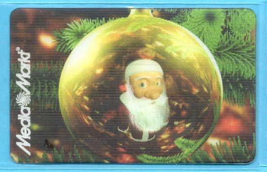 2011 - Lenticular Christmas Ornament