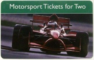 Motorsport Tickets for Two