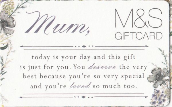 mum, today is your day...