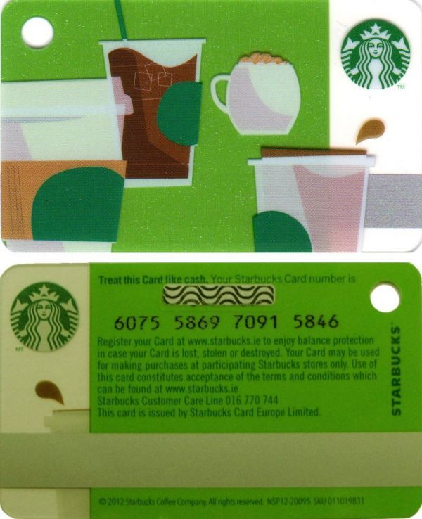 6075 IRELAND - Key Card : Summer Cups