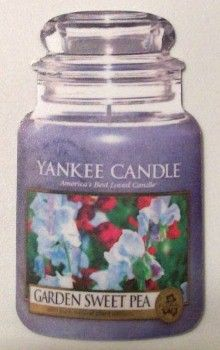 Candle Jar: Garden Sweet Pea