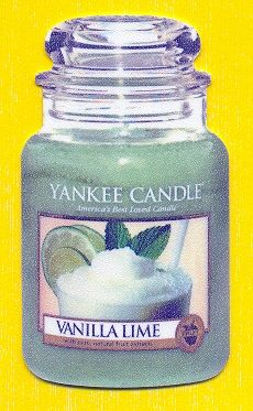 Candle Jar: Vanilla Lime