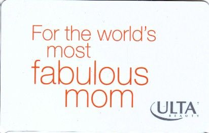 For the world's most fabulous mom