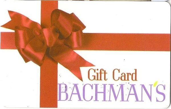 Bachman's - Red Bow