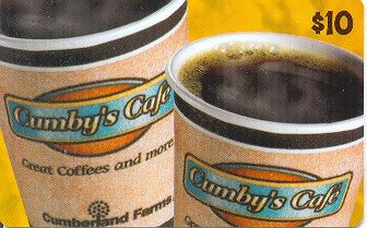 Cumby's Cafe $10