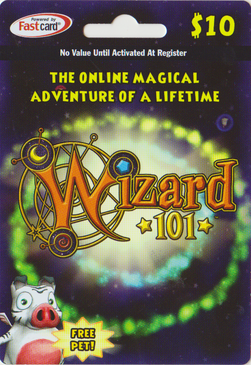 Wizard101 $10