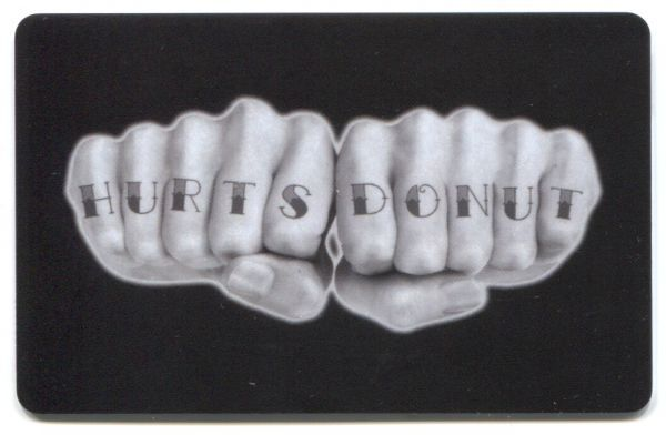 Hurts Donut - Tattooed Hands