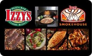 Izzy's Pizza Bar & Classic Buffet - Izzy's Smokehouse - Food