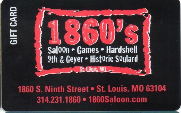 1860's Saloon & Cafe