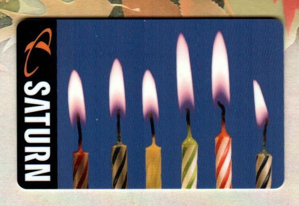 2012 - Birthday Candles